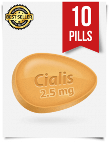 Cialis 2.5 mg Online x 10 Tablets | SildenafilViagra