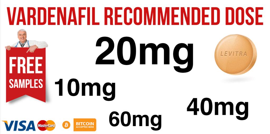 Vardenafil Recommended Dose
