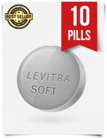 Levitra Soft x 10 Tablets