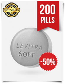 Levitra Soft x 200 Tablets