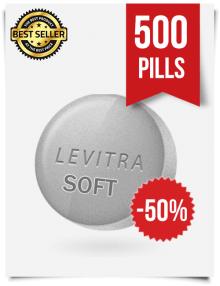 Levitra Soft x 500 Tablets