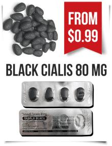 Buy Black Cialis 80 mg Tadalafil Online