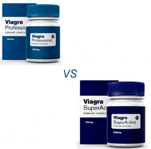 Viagra Professional vs Viagra Super Active