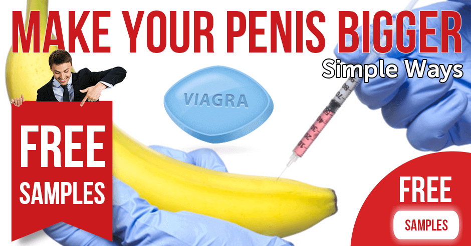 Simple ways to make your penis bigger
