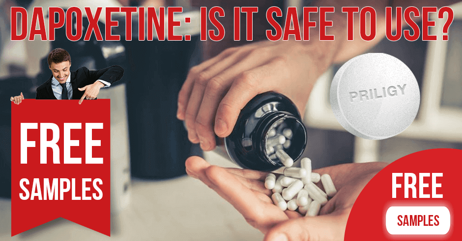 The flip side of Dapoxetine use: is it safe?
