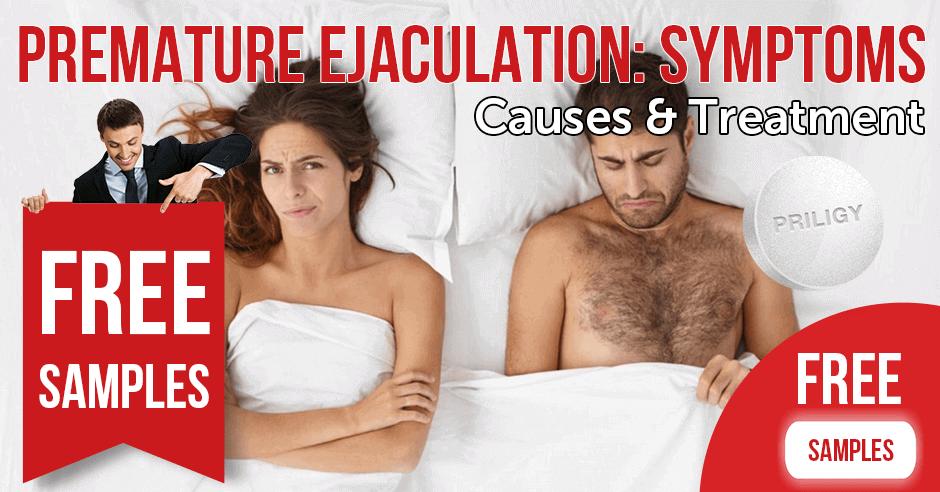 Premature ejaculation symptoms, causes & treatment