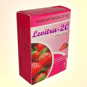 Levitra Oral Jelly 20 mg vardenafil