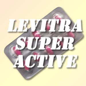 Levitra Super Active 20 mg tabs