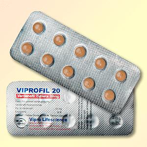 Viprofil 20 mg vardenafil